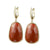 """Delicate"" Faceted Semi-Precious  Drop Earrings"