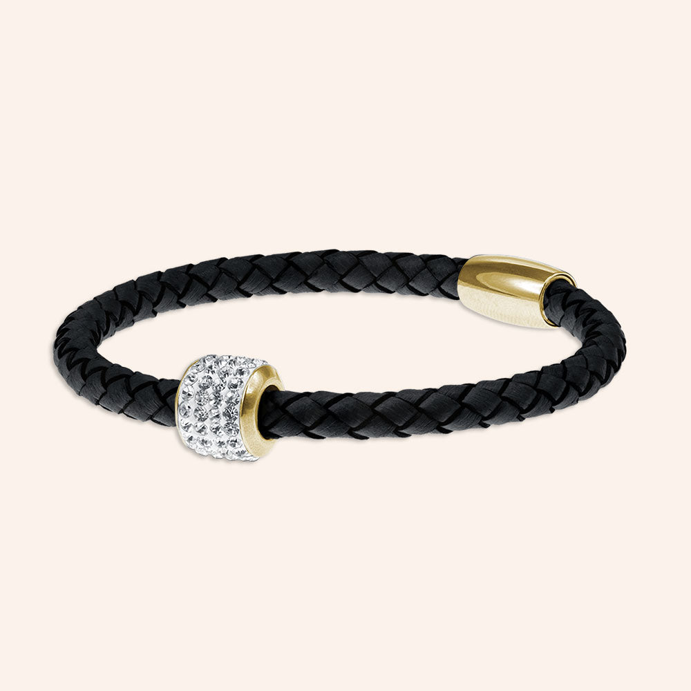 """Every day Icon"" Genuine Leather Bracelet"