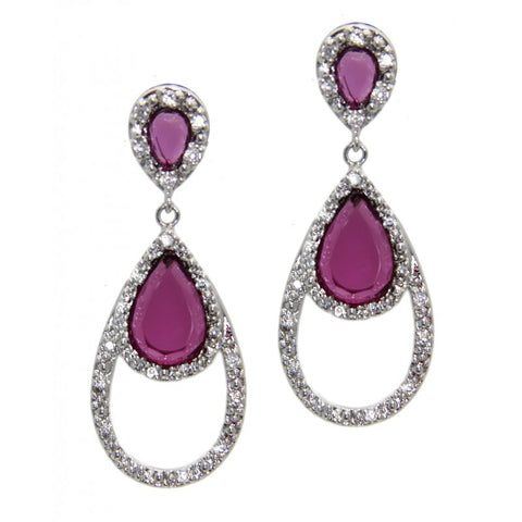 Rhodium Plated, Classic Elegance Earrings More Colors