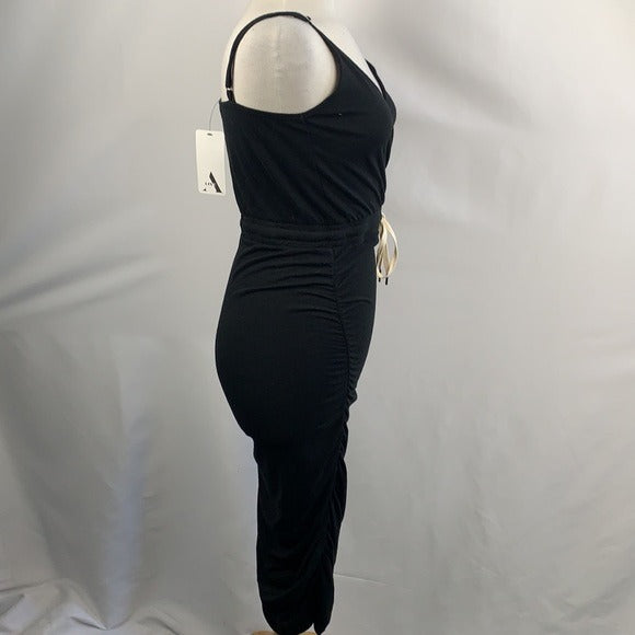 NEW A-Line Black Cinched Dress