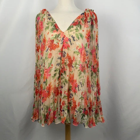 ANM Layered Flowery Sleeveless Top