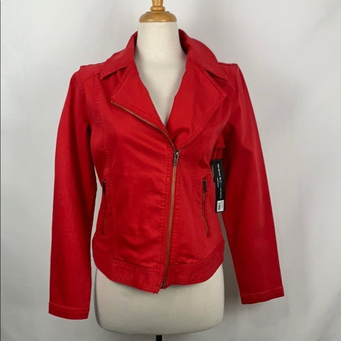 NEW Liverpool Red Moto Jacket