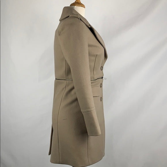 Armani Exchange Tan Convertible Wool Jacket