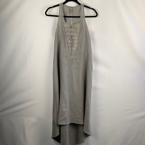 Issac Selam Experience Grey Linen Dress
