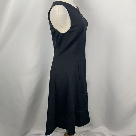 NEW Donna Karan Black Fit Flare Dress