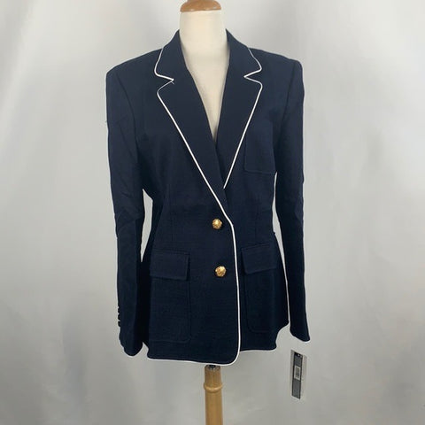 NEW Navy Jacket with Gold Buttons