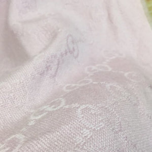 Gucci GG Lilac Light Purple Wool Shawl Scarf