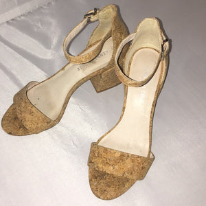 Kenneth Cole cork sandals