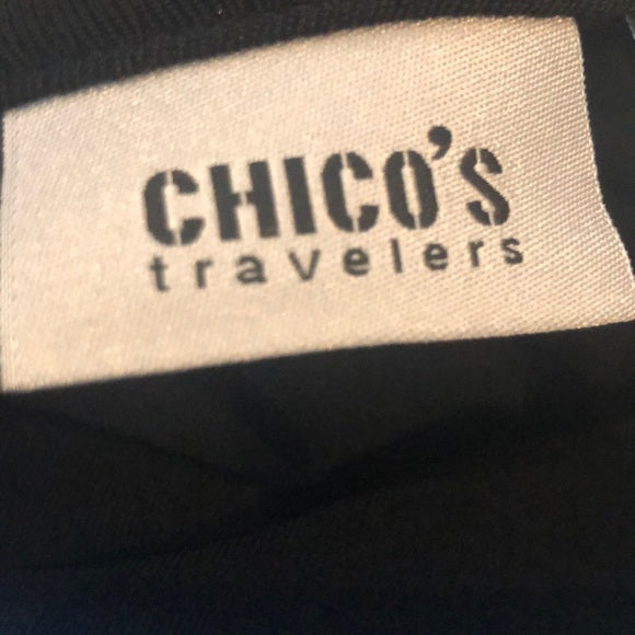 Chico's Black Travelers Vest NEW with Pockets
