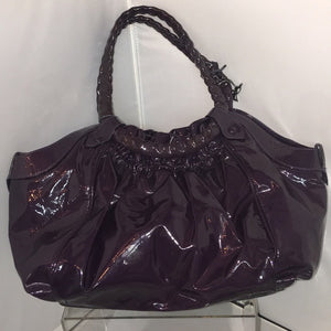 Christian Louboutin Purple Patent Satchel