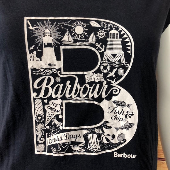 Barbour Logo Tee