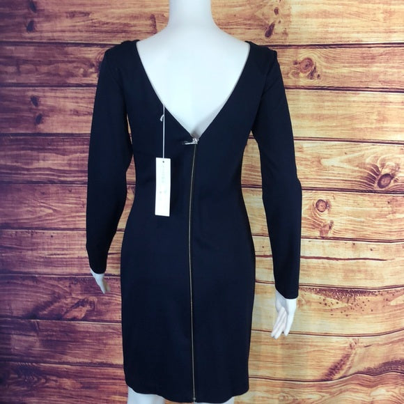 Amanda Uprichard Navy with Back Zip