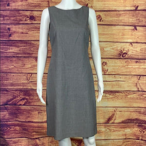 Grey Theory Pinstripe Dress