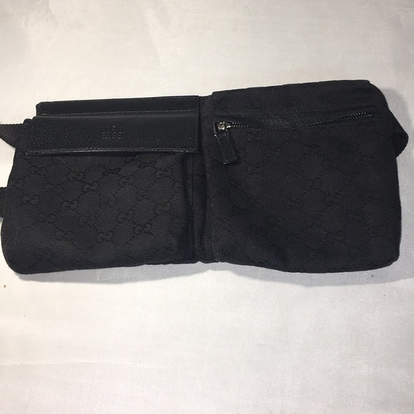 Gucci GG Canvas/Leather Waist Bag