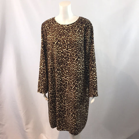 NEW J.Crew Animal Print Dress