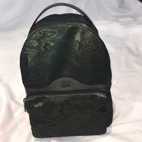 Christian Louboutin Backloubi Camo Backpack