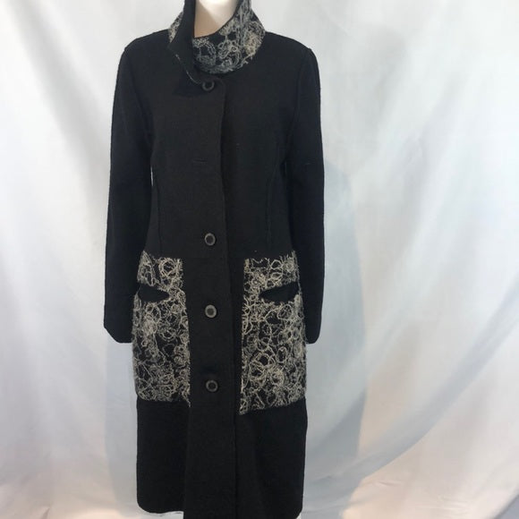 Annikki Karvinen Black Long Coat