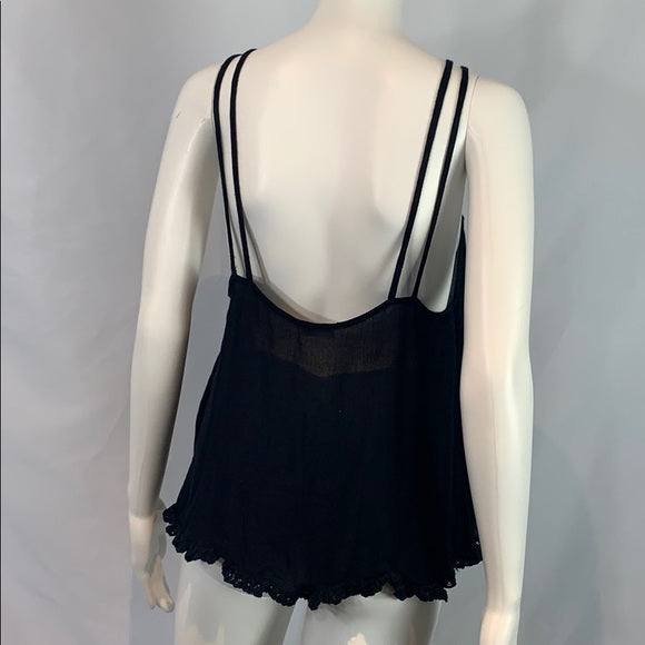 Black Free People Cami