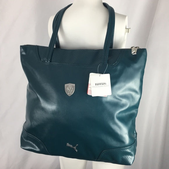 NEW Ferrari X Puma Large Tote Bag