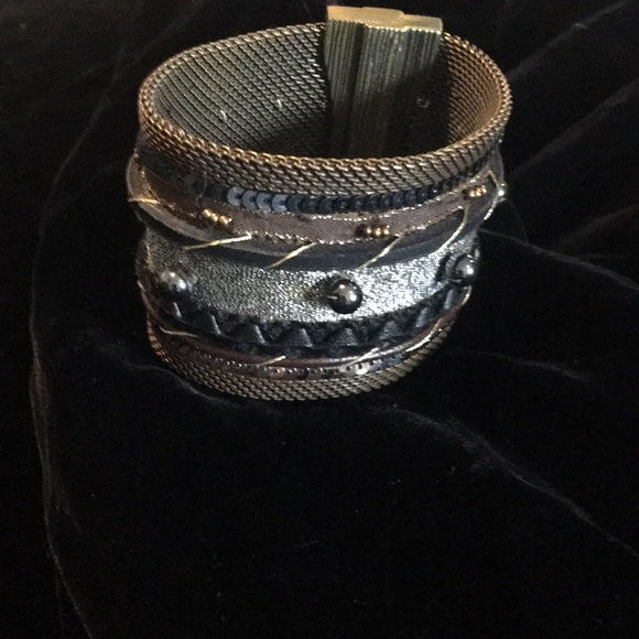 Cynthia Desser Mixed Media Cuff Bracelet