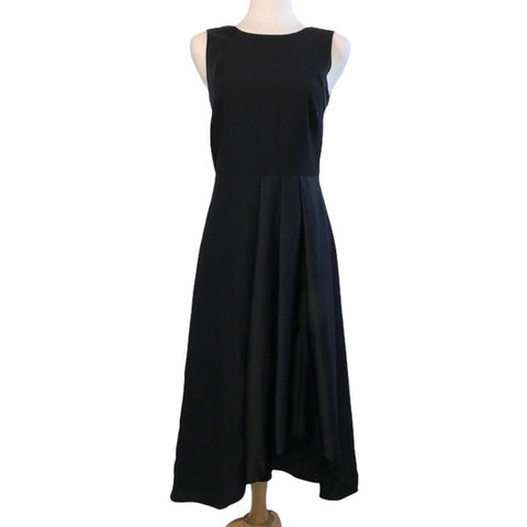 Banana Republic Pleated Front Assym Dress