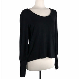 Madewell Black Long Sleeve NWT