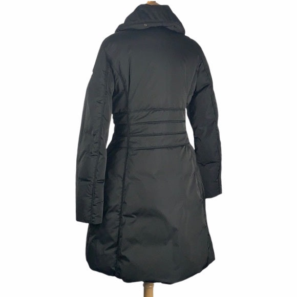 Postcard Black 3/4 Puffer with Hood