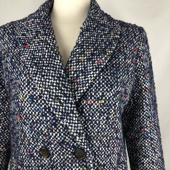 J. Crew Blue Tweed Jacket