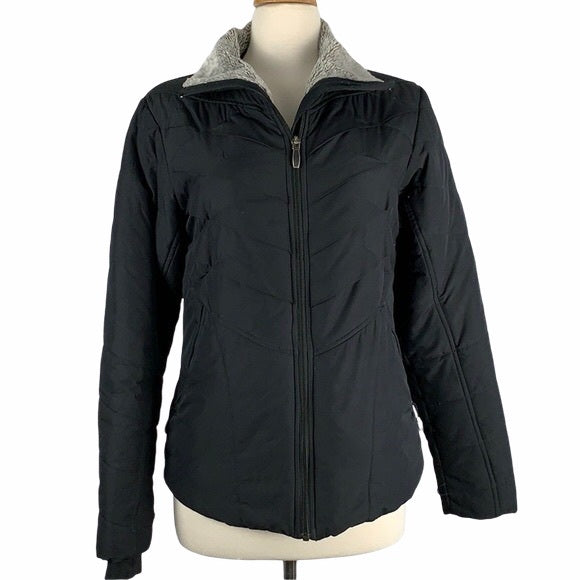 Columbia Black Puffer Jacket