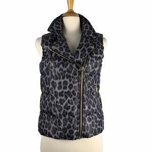Juicey Coutore Grey Animal Print Puffer