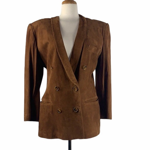 NEW Vintage Brown Suede Jacket