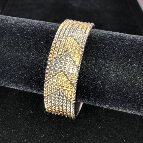 House of Harlow Gold & Silver Arrow Bangle