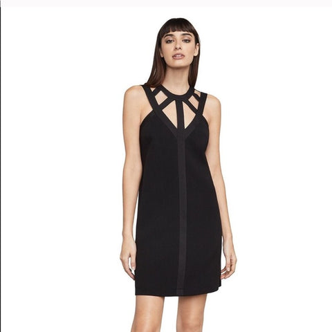 BCBG Black Cutout Dress