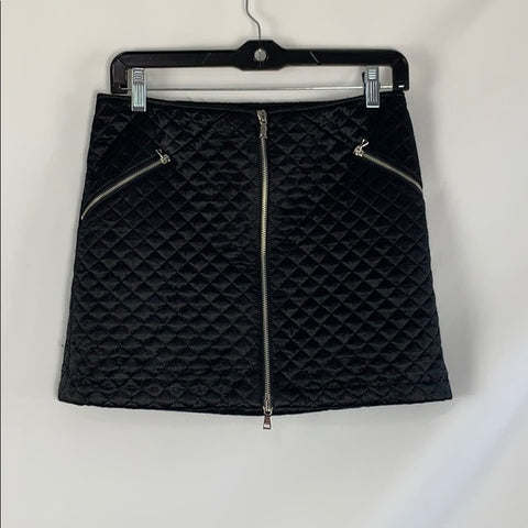 NEW Laundry Black Quilted Skirt