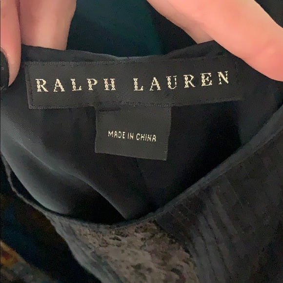 Ralph Lauren Black with Brown Lace