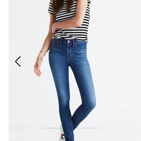 Madewell 9 Inch Skinny Jeans