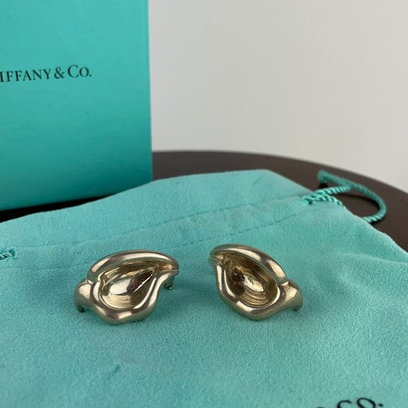 Vintage Tiffany & Co Elsa Perretti Flower Earring