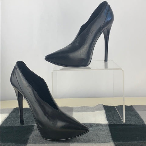 Burberry Black Platform Shoe Boots