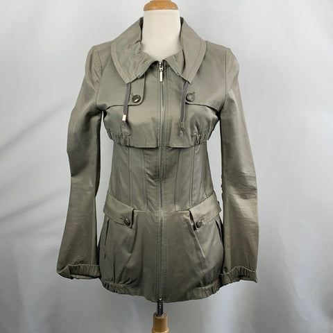Liu-Jo Long Khaki Jacket