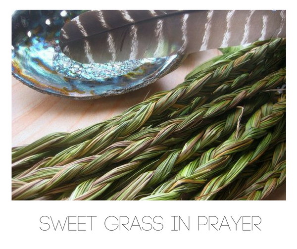 How to use Sweet Grass in Prayer