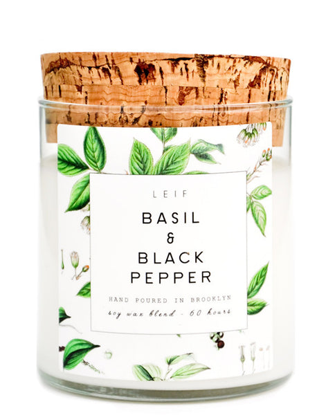 Basil + Black Pepper