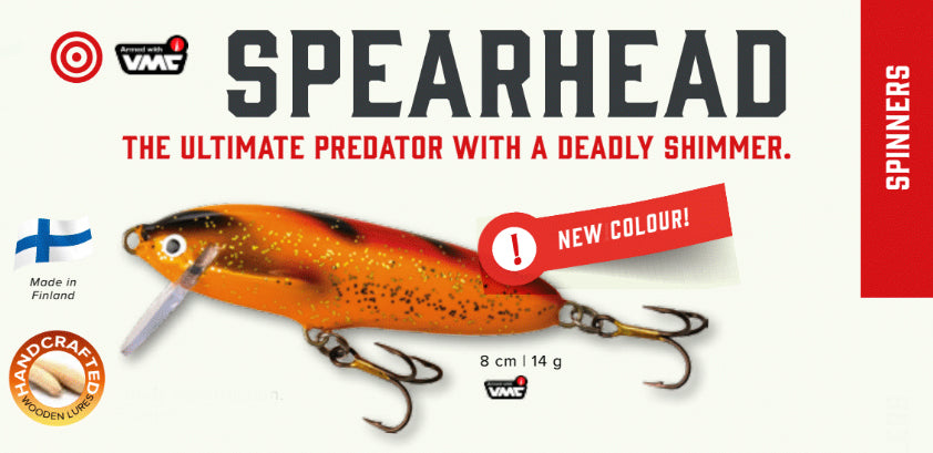 We Now Offer Spearhead Lures
