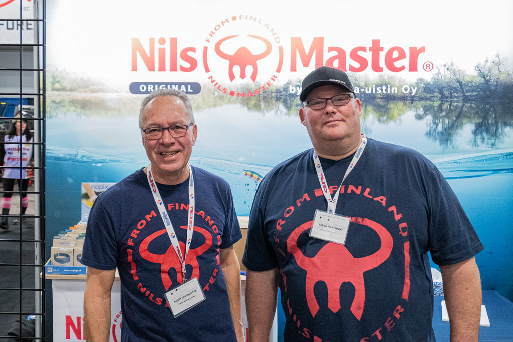 Jason & Roch Nils Master Canada at the Spring Fishing & Boat Show Toronto