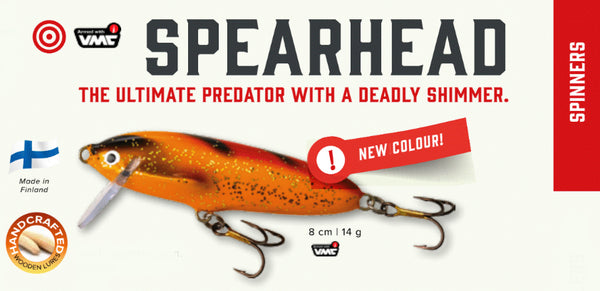 Nils Master Spearhead Lure Catalog