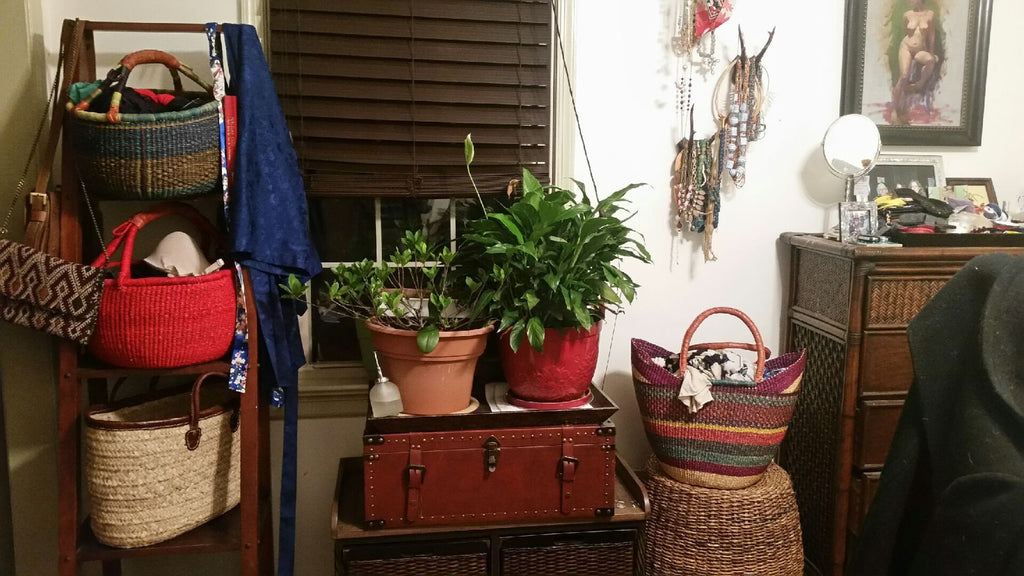 Using Baskets in Your Decor