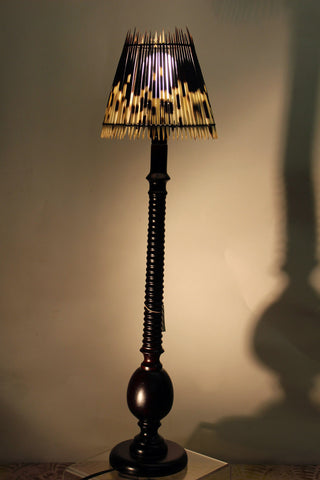 Antelope Porcupine Quill Lamp