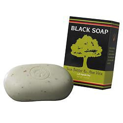 Black Soap with Shea Butter & Aloe