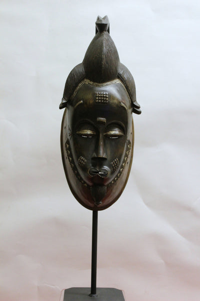 Baule Mask on Stand - Ivory Coast