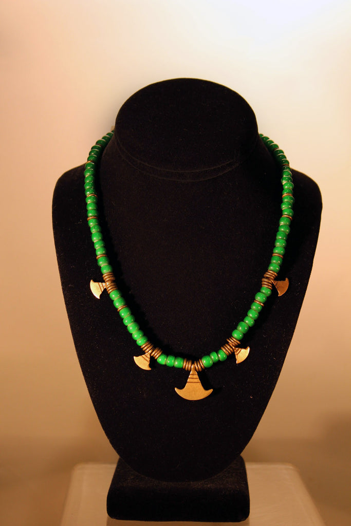 Little Egypt Green Necklace