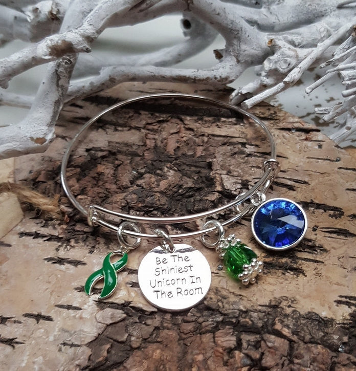 DG-1 Kidney Donor Organ Donor Kidney Disease Unicorn Bracelet Awareness Jewelry